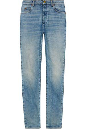 Gucci Dames Skinny - Denim skinny pant