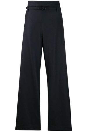 Marni High-waisted twisted trousers