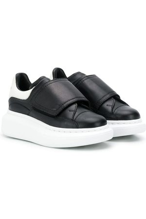 Alexander McQueen Touch-strap extended sole sneakers