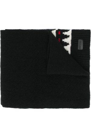 Saint Laurent Boho print winter scarf