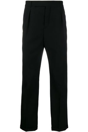 Saint Laurent Cuffed tailored trousers