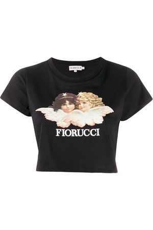 Fiorucci Vintage Angels cropped top
