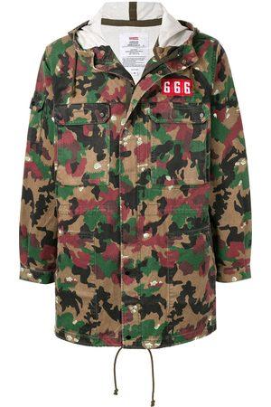 Supreme Field hooded parka jacket