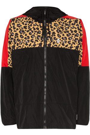 MARCELO BURLON Leopard-print windbreaker jacket