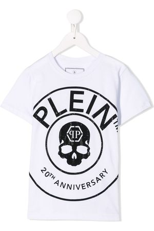 Philipp Plein Round Neck SS Anniversary 20th T-shirt