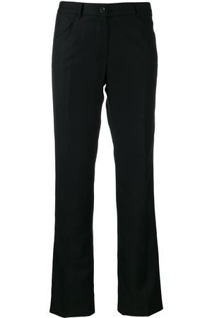 CHANEL 2004 tailored bootcut trousers