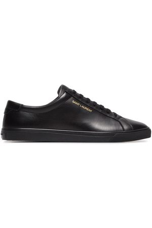 Saint Laurent Andy leather low-top sneakers