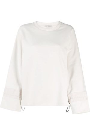 PESERICO SIGN Bell sleeves sweatshirt