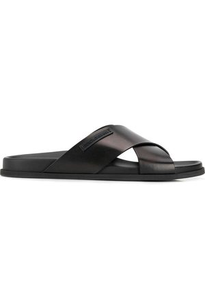 Dolce & Gabbana Heren Slippers - Criss-cross strap slides