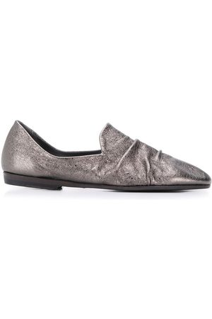 Pantanetti Gathered front loafers