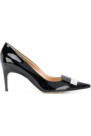 Sergio Rossi Pointed bow pumps