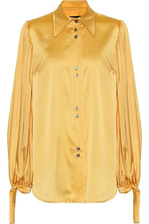 Ellery Dames Blouses - Monpi stretch-silk satin blouse