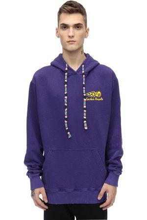 RICCARDO COMI Heren Sweaters - Cotton Sweatshirt Hoodie