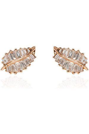 Anita Palm leaf earrings