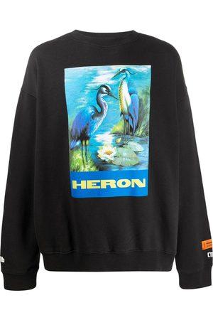 Heron Preston Graphic print sweatshirt