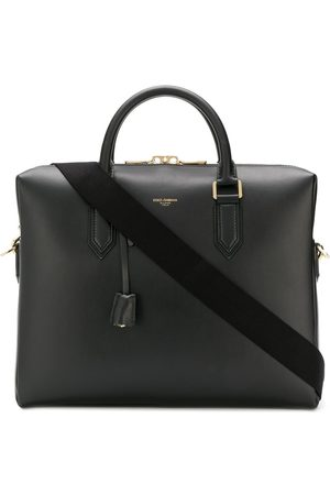 Dolce & Gabbana Heren Laptop- & Businesstassen - Leather laptop bag