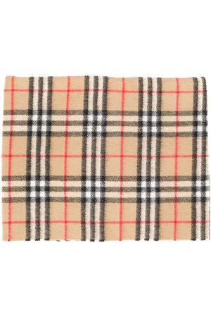 Burberry Jongens Sjaals - Sciarpe check scarf