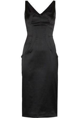 Dolce & Gabbana Satin midi dress