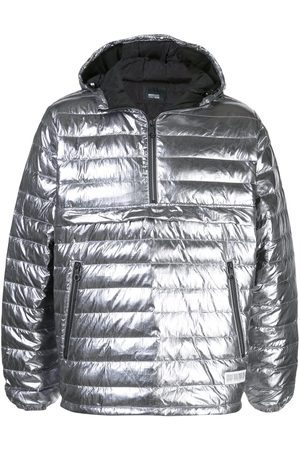 MOSTLY HEARD RARELY SEEN Quarter zip puffer jacket
