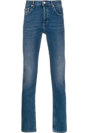 Sandro Slim-fit stonewashed jeans