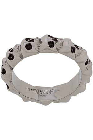 NORTHSKULL Medius skull band ring