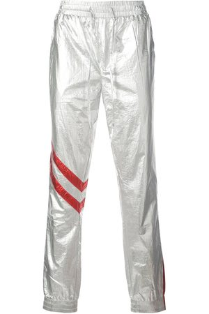 God's Masterful Children Astro faux-leather trousers