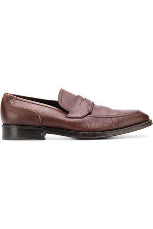 Salvatore Ferragamo 1990's textured loafers
