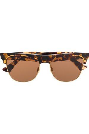 Bottega Veneta Tortoiseshell-effect sunglasses