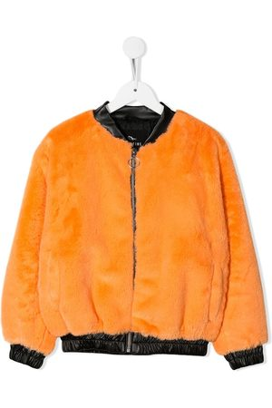 Le pandorine Faux fur bomber jacket