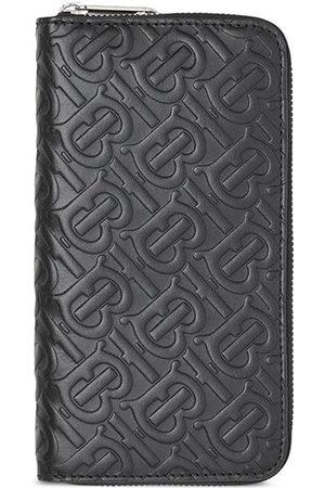 Burberry Monogram zip around wallet