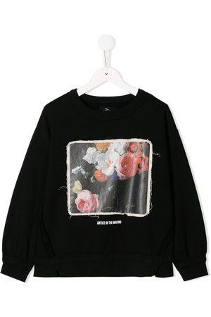 Le pandorine Floral print sweatshirt