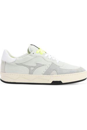 Mizuno Heren Sneakers - Saiph 3 Nu Leather & Suede Sneakers