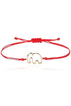 YVONNE LÉON Elephant tie bracelet