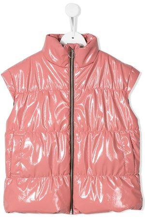 Le pandorine Meisjes Bodywarmers & gilets - Leather look gilet