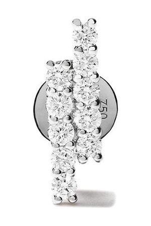 ALINKA 18kt white gold MALA diamond stud earring
