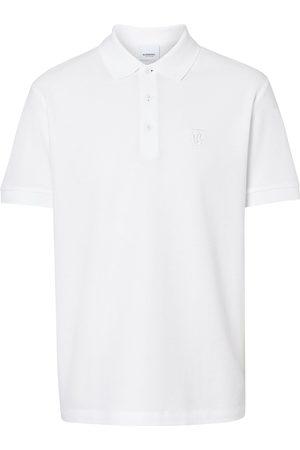 Burberry Heren Poloshirts - Monogram motif polo shirt