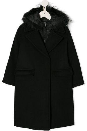 Emporio Armani Meisjes Donsjassen - Double collar coat