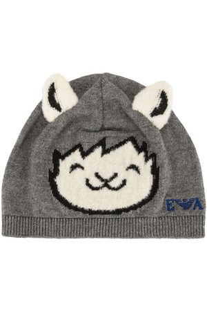 Emporio Armani Animal beanie hat