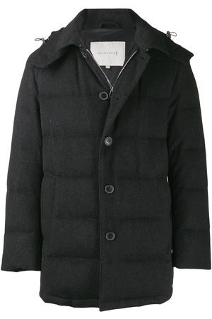 MACKINTOSH AUCHAVAN Charcoal Storm System Wool Down Jacket GD-001