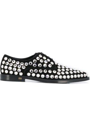 Dolce & Gabbana Rhinestone embellished Derby shoes
