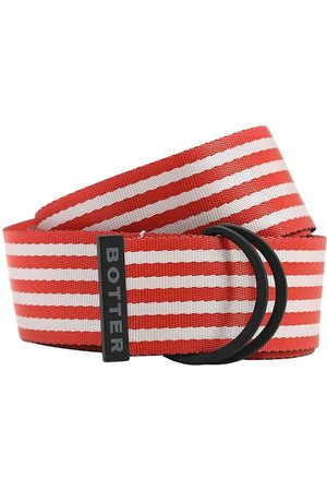 Botter Heren Riemen - 40mm Striped Nylon Belt