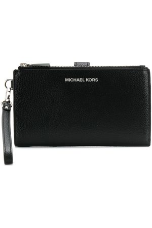 Michael Kors Logo plaque wristlet wallet