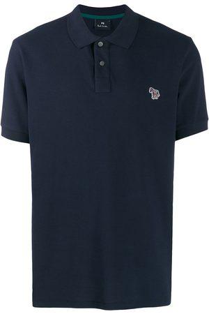Paul Smith Zebra patch polo shirt