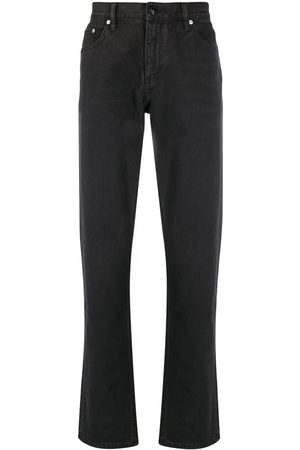 Burberry Heren Straight - Straight-leg distressed detail jeans