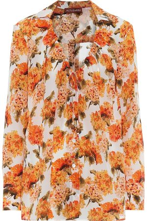 Altuzarra Exclusive to Mytheresa – Bowie floral silk blouse