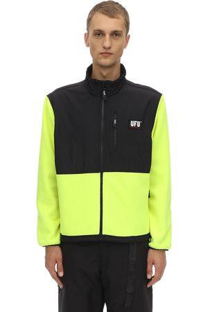 UFU - USED FUTURE Guard Logo Color Block Zip Jacket
