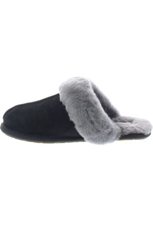 UGG Dames Pantoffels - Scufette II Black Grey Pantoffels