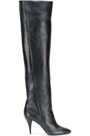 Saint Laurent Kiki 110mm knee-length boots