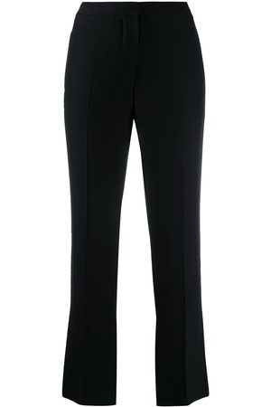 Alexander McQueen Cropped cigarette trousers