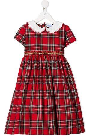 SIOLA Tartan short-sleeve dress
